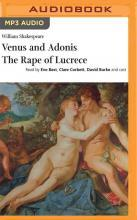 Venus and Adonis & the Rape of Lucrece (Naxos)