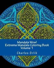 Mandala Wow Extreme Coloring Book