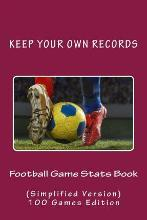 Football Game STATS Book