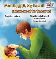 Goodnight My Love Buonanotte Tesoro Bilingual Italian Childrens Book