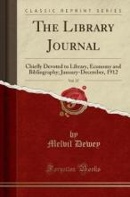 The Library Journal, Vol. 37