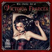 Gothic Art of Victoria Frances 2018 Calendar
