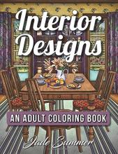 interior designs an adult coloring book with beautifully decorated houses inspirational room designs