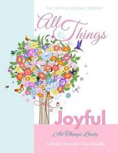 All Things Joyful All Things Lovely Catholic Journal Color Doodle