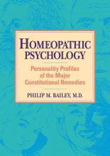 Homeopathic Psychology