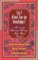 Can I Afford Time for Friendships?