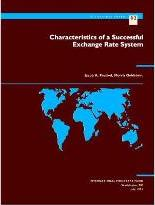 Characteristics of a Successful Exchange Rate System