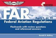 Flashcards for Federal Aviation Regulations