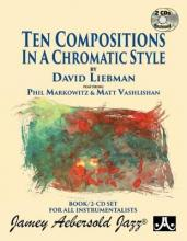 Ten Compositions In A Chromatic Style (with 2 Free Audio CDs)
