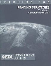 Reading Strategies Lesson Plans, AA 1-15