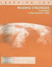 Reading Strategies Lesson Plans, CA 16-30