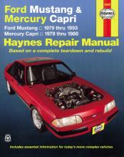Ford Mustang Mercury Capri Automotive Repair Manual