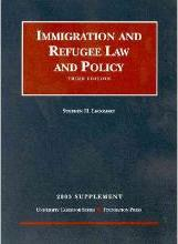 2003 Supp Immigrat and Refugee