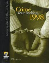 Crime State Rankings, 1998