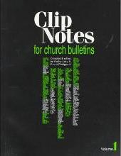 Clip Notes for Church Bulletins