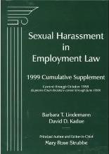 Sexual Harassment in Employment Law