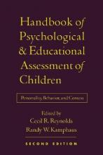 Handbook of Psychological and Educational Assessment of Children