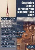 Operating Grants for Nonprofit Organizations 2002