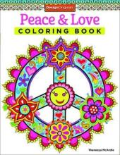 Peace Love Coloring Book