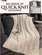 Big Book of Quick Knit Afghans (Leisure Arts #3137)