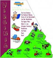 State Shapes Virginia