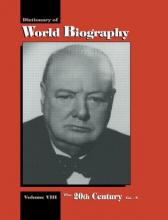 The Dictionary of World Biography: 20th Century GO-N Volume 8