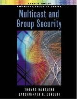 Multicast and Group Security