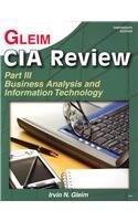 CIA Review  Business Analysis and Information Technology
