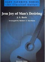 Jesu, Joy of Man's Desiring for Easy Guitar