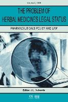 The Problem of Herbal Medicines Legal Status