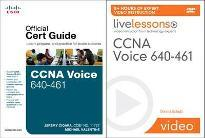 CCNA Voice 640-461 Official Cert Guide and LiveLessons Bundle