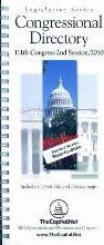Congressional Directory, 111th Congress 2nd Session 2010