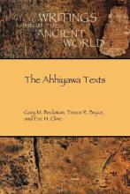 The Ahhiyawa Texts