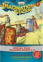 Imagination Station Books 3-Pack: Revenge of the Red Knight / Showdown with the Shepherd / Problems in Plymouth