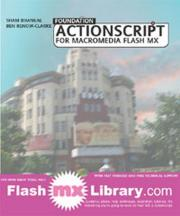 Foundation ActionScript for Macromedia Flash MX