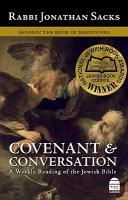 Covenant and Conversation: Genesis, the Book of Beginnings v. 1
