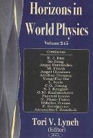 Horizons in World Physics: v. 245