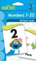 Sesame Street Numbers 1-20 Flash Cards