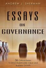 Essays on Governance