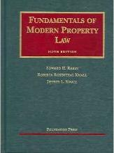 Rabin, Kwall and Kwall's Fundamentals of Modern Property Law, 5th