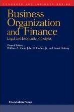 Business Organization and Finance, Legal and Economic Principles