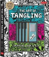 The Art of Tangling Drawing Book & Kit