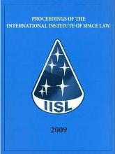 Proceedings of the International Institute of Space Law 2009