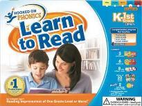 Hooked on Phonics Learn to Read K-1st Grade