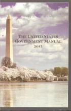 United States Government Manual 2011-2012