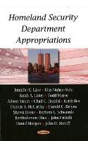 Homeland Security Department Appropriations