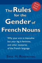 The Rules for the Gender of French Nouns