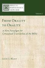 From Orality to Orality
