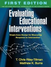 Evaluating Educational Interventions