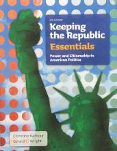 BUNDLE: Barbour: Keeping the Republic, 5e Essentials + Barbour: Clued in to Politics, 3e